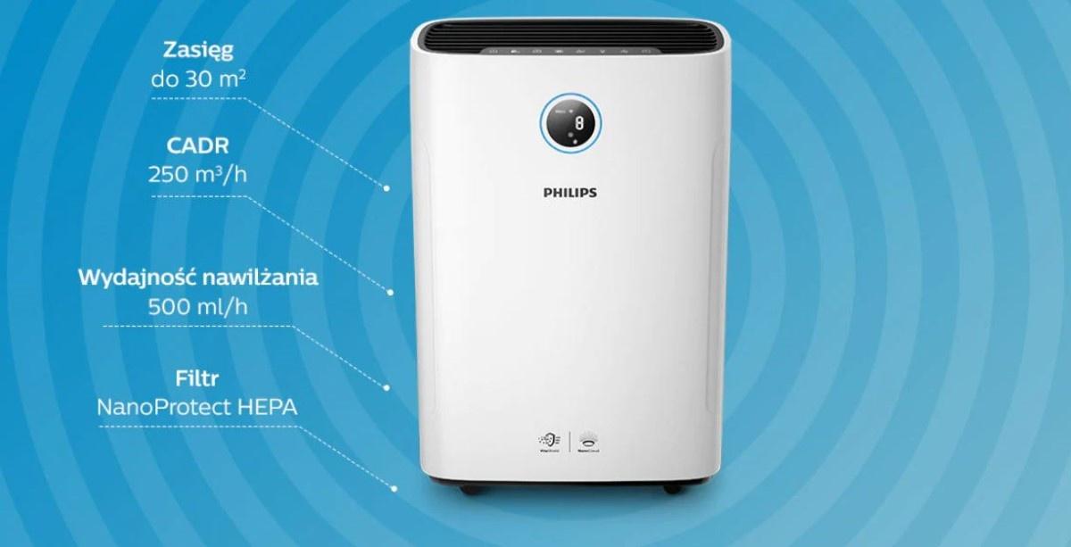 Zalety Philips AC2729/50 Combi 2w1