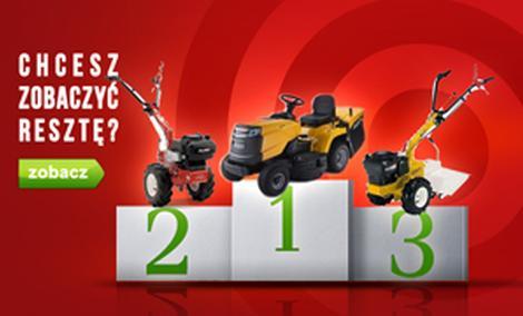 Zestawienie Traktorków Ogrodowych - TOP 10 Maj 2015