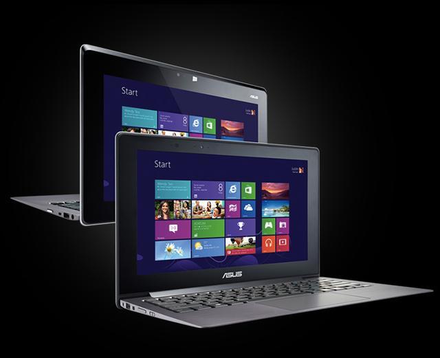 Notebooki Asusa z dotykowym ekranem i Windowsem 8