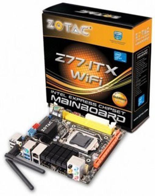 ZOTAC prezentuje płyty główne mini-ITX  oparte na chipsecie Intel 7