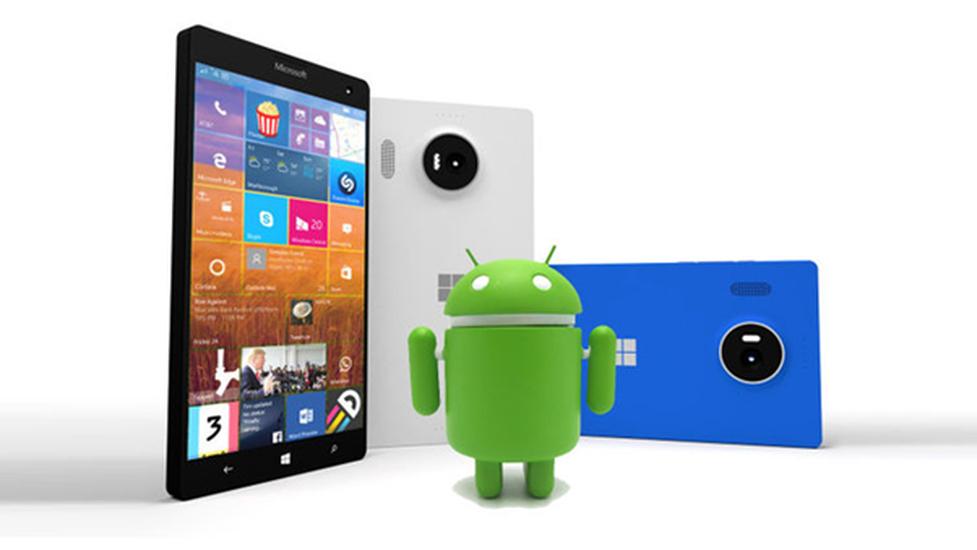 Nie Zobaczymy Aplikacji Rodem z Androida na Platformie Windows 10 Mobile…