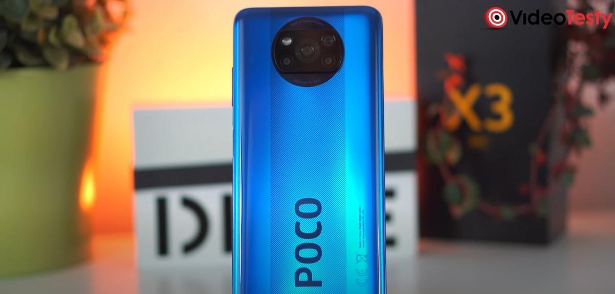 Tył POCO X3 NFC wykonano ze szkła Gorilla 5