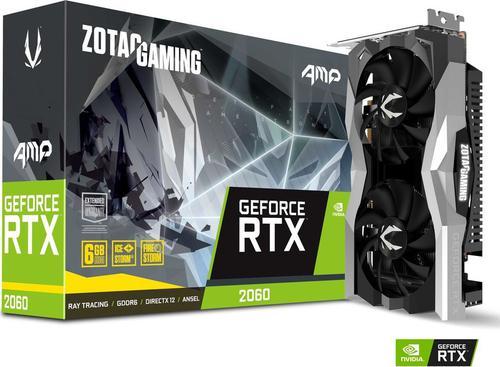 Zotac GeForce RTX 2060 AMP 6G GDDR6 (192 Bit), HDMI, 3xDP, BOX