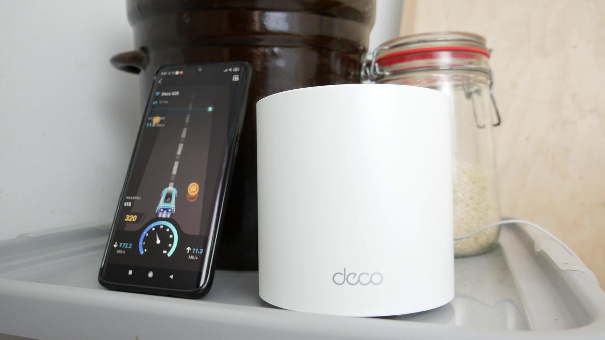 TP-Link Deco X20 w kuchni