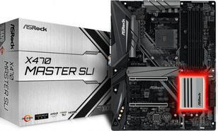 ASRock X470 MASTER SLI AM4 4DDR4 6SATA3/M.2 ATX