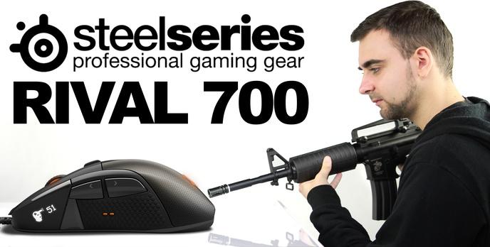 SteelSeries Rival 700 - Wrażenia po Miesiącu Testowania Myszki Przez KubiK-a