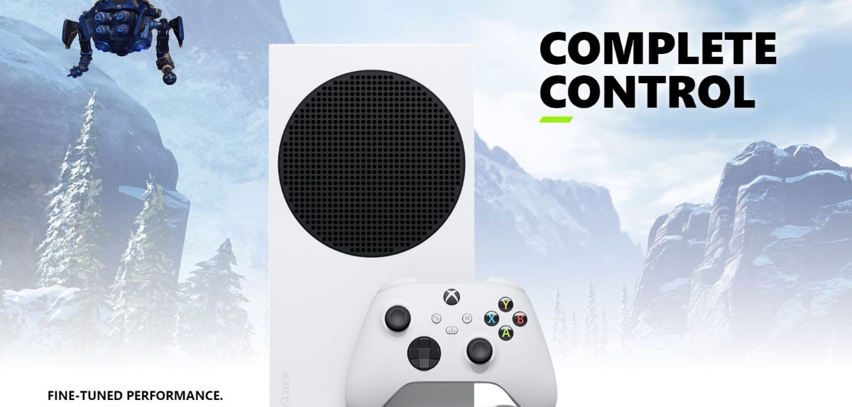 Pełna kontrola Xbox Series S