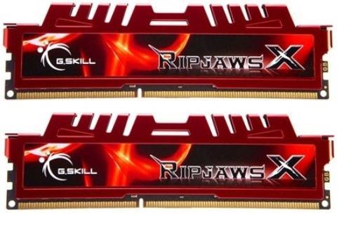 G.SKILL DDR3 8GB (2x4GB) RipjawsX 1600MHz CL9 XMP