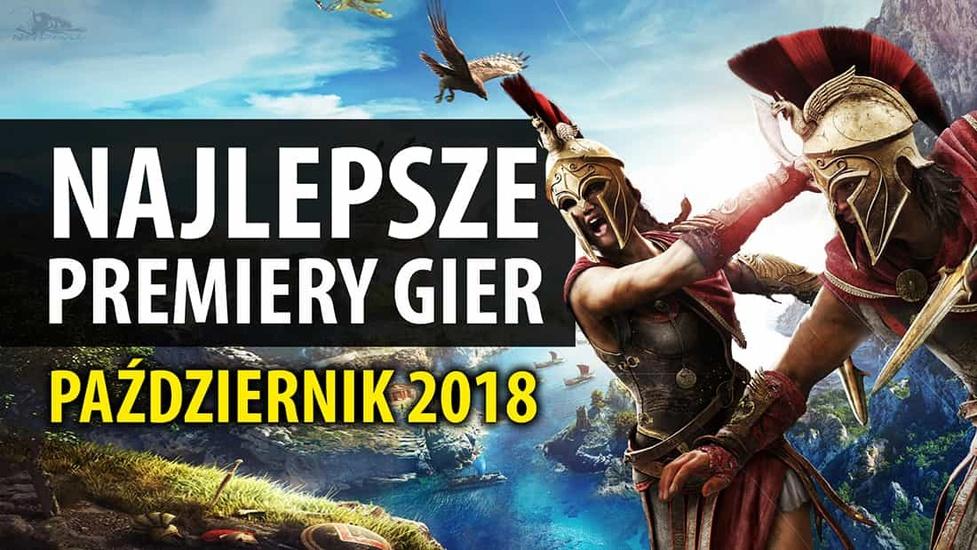 Najlepsze Premiery Gier Październik 2018 – Assassin's Creed Odyssey, Call of Duty: Black Ops IIII