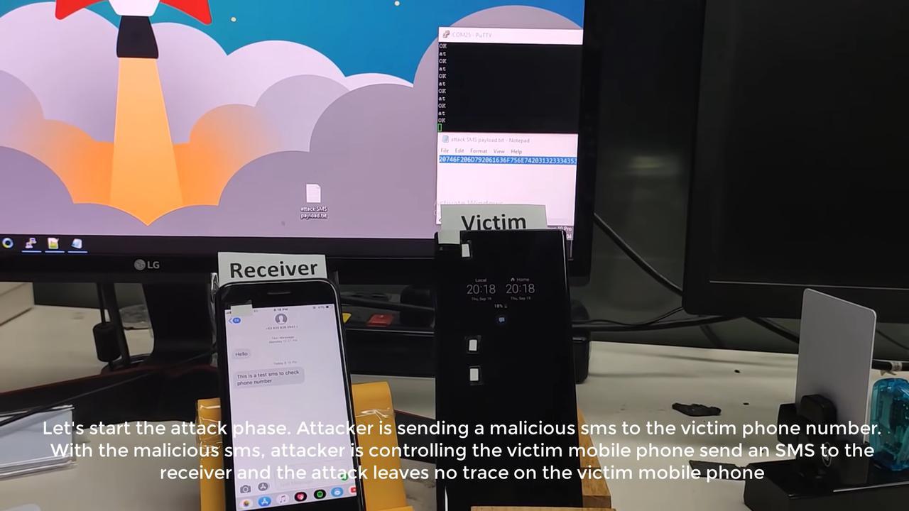 Hakerzy potrzebują wyłącznie telefonu i komputera (Źródło: Ginno Security Labs)