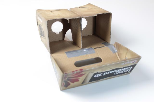Legato Cardboard 3D