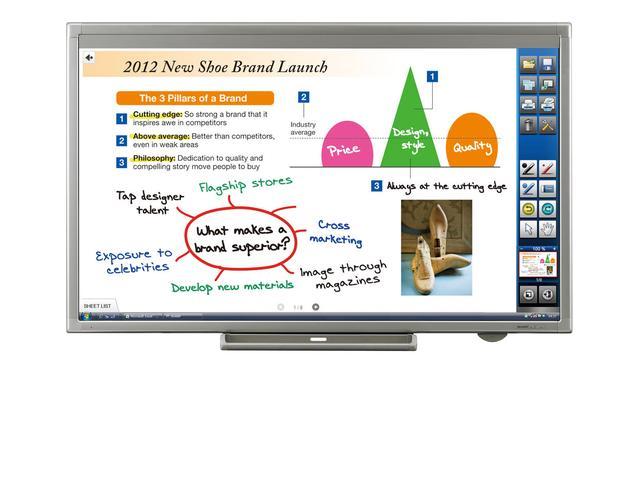 Sharp przedstawia największy interaktywny monitor LCD z funkcją dotyku