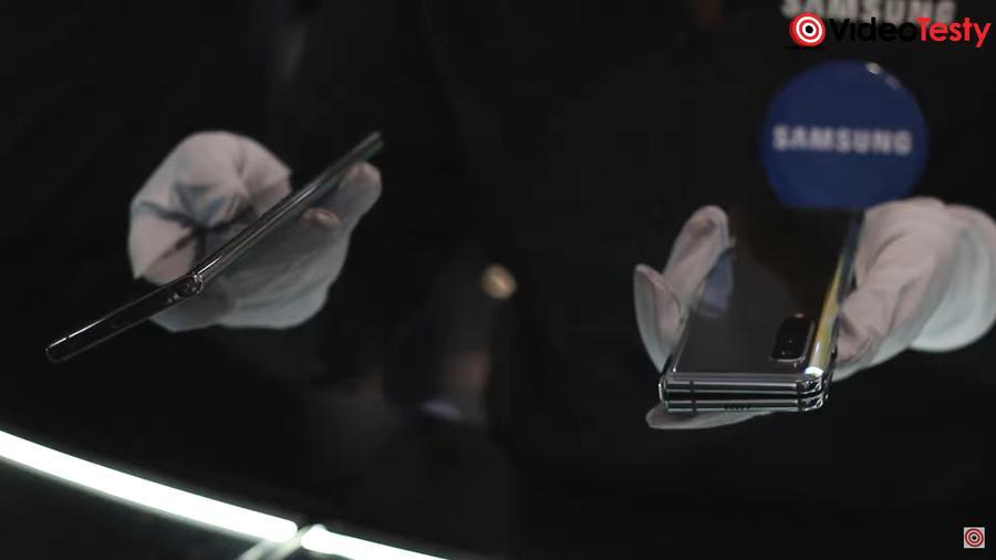 Galaxy Fold waży sporo, co wielu osobom będzie przeszkadzać