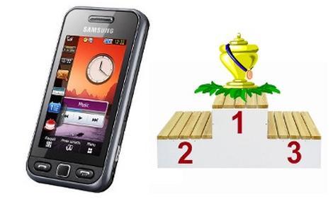 VideoRanking telefonów komórkowych - marzec 2010
