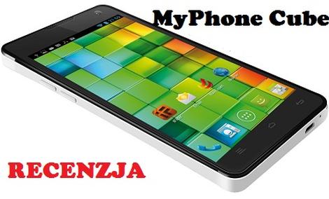MyPhone Cube - 5-calowy olbrzym za niewielkie pieniądze