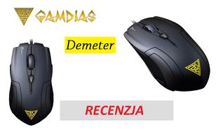 Gamdias Demeter - dobra mysz dla graczy w super cenie!