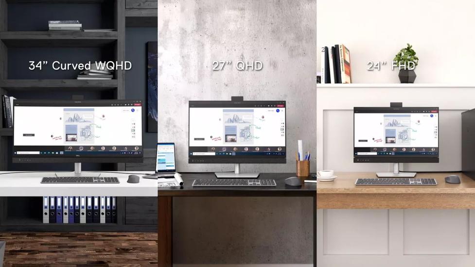 Dell prezentuje nowe monitory do pracy zdalnej