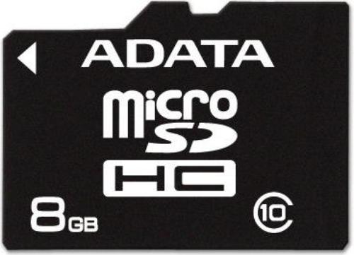 A-Data Micro SD Class 10 + adapter