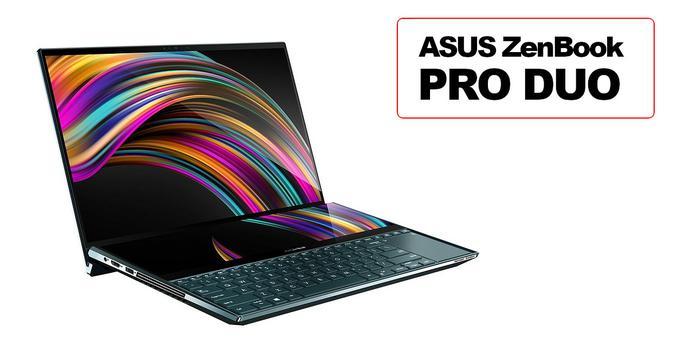 ASUS ZenBook Pro Duo - Laptop przyszłości już w sprzedaży