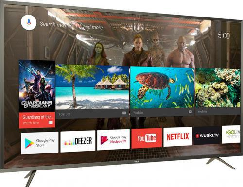 TCL U49P6046 4K, 10-bit, HDR, Android TV, PPI 1200