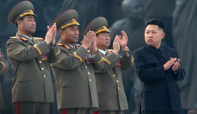Korea Północna Klaszcze