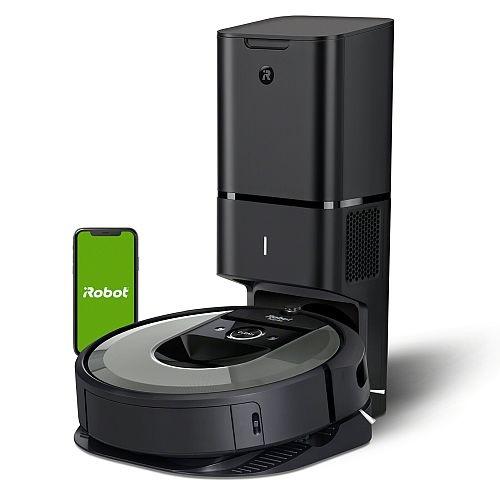 okrągły odkurzacz automatyczny iRobot Roomba i7