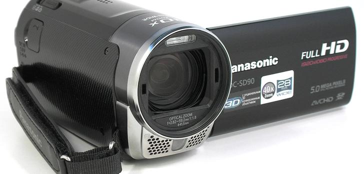 Panasonic HDC-SD90 [TEST]