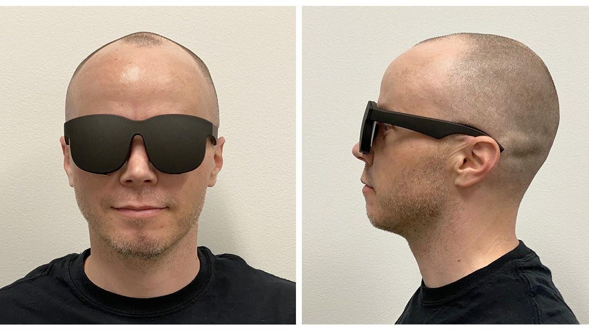Nowe gogle VR będą miniaturowe w porównaniu do poprzedników (Fot. Biuro Prasowe Facebooka)