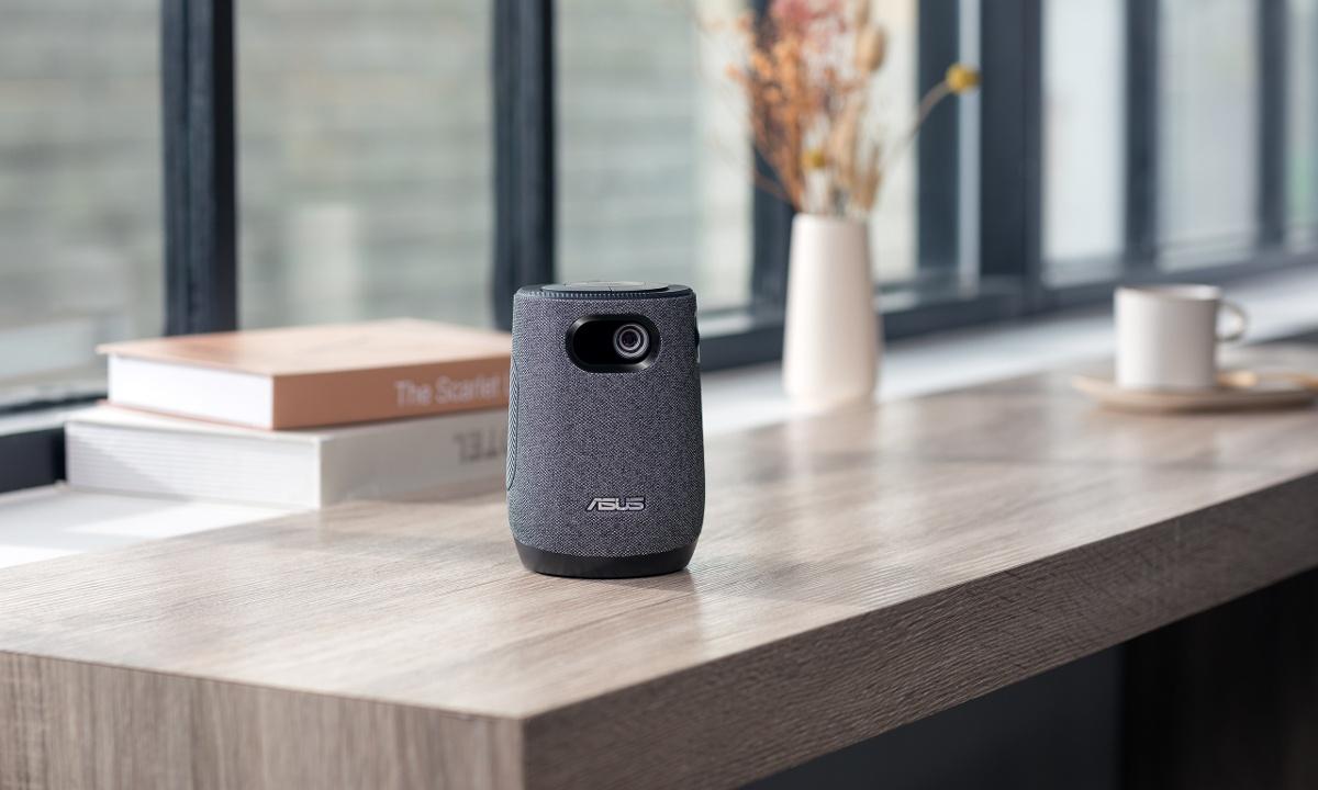 ZenBeam Latte L1 posiada wbudowany głośnik Bluetooth