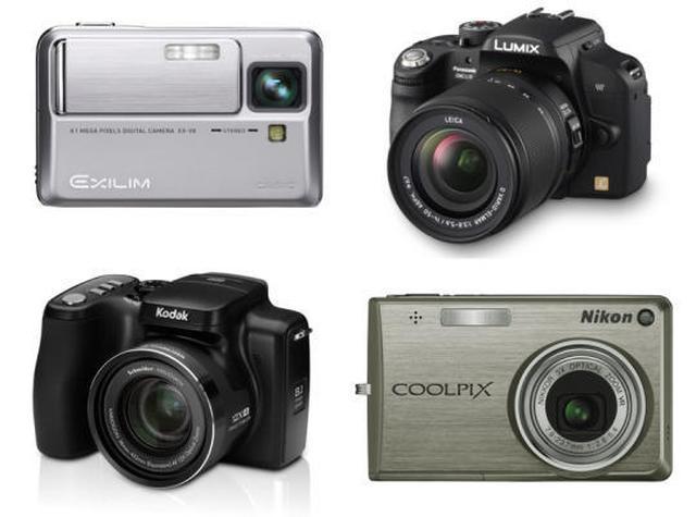 Ranking aparatów fotograficznych - luty 2010