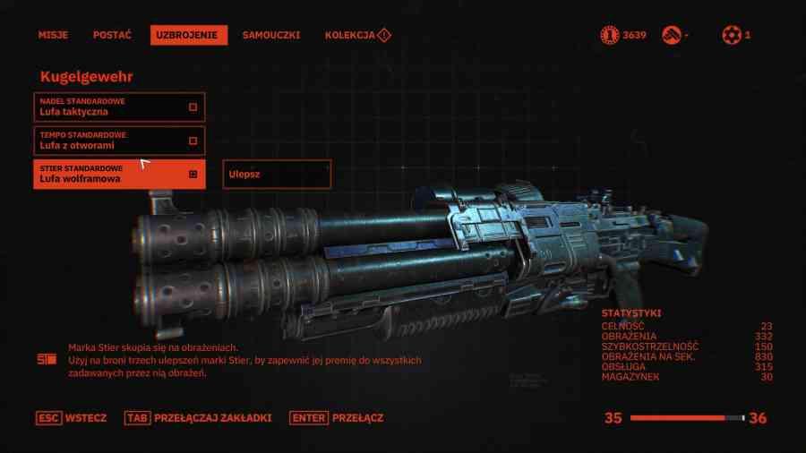 Wolfenstein: Youngblood - Modyfikacja broni