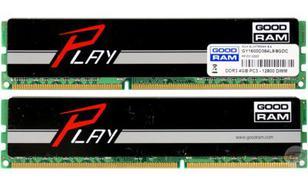 GoodRam DDR3 Play 2 x 4096MB 1600 CL9 (czarny)