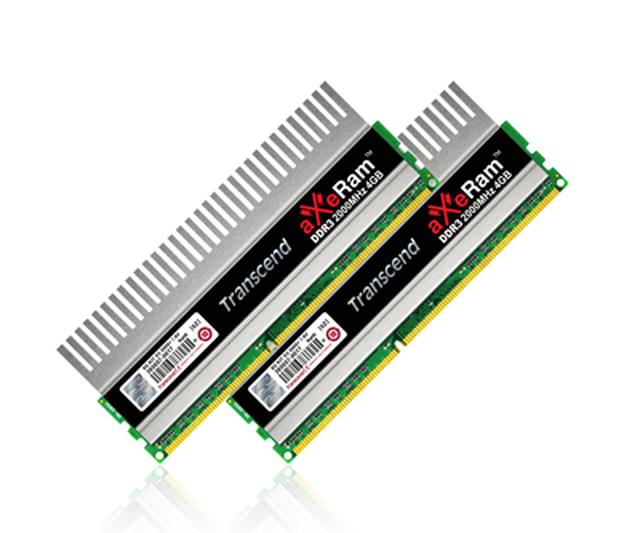 Zestaw pamięci Transcend 8GB aXeRam DDR3-2000