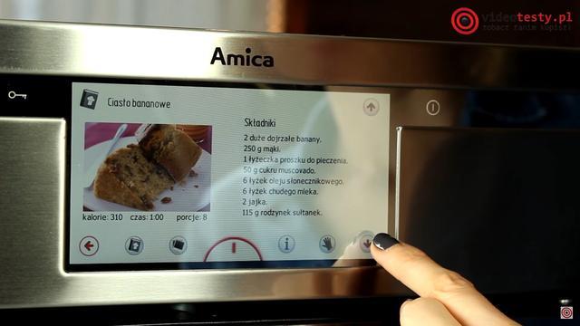 Książka kucharska - Amica Integra Smart EBI 712104AA pyro