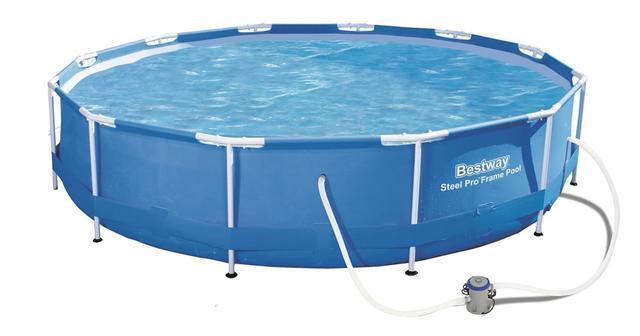 duży basen ogrodowy w atrakcyjnej cenie Bestway 366 x 76 cm 56416