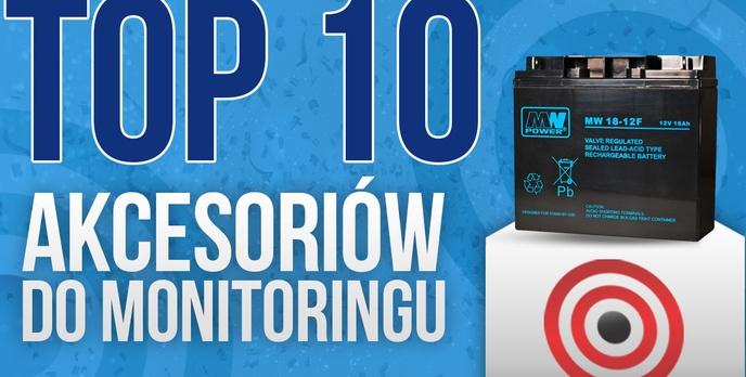 Najczęściej Kupowane Akcesoria Do Monitoringu – TOP 10!