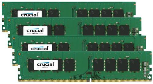Crucial DDR4 32GB/2133(4*8GB) CL15 DR x8 288pin