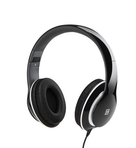 Czarny to jeden z kilku kolorów słuchawek Hykker.