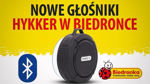 Hykker rzuca nowe głośniki Bluetooth na Biedronkę