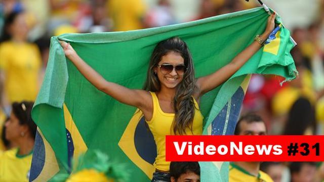 VideoNews #31 - mundial w Brazylii i ich nowinki technologiczne