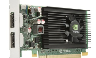 HP nVIDIA NVS 310 1GB DDR3 (64 bit) 2x DisplayPort (M6V51AT)