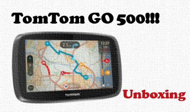TomTom GO 500 rzut okiem na nawigację samochodową [UNBOXING]