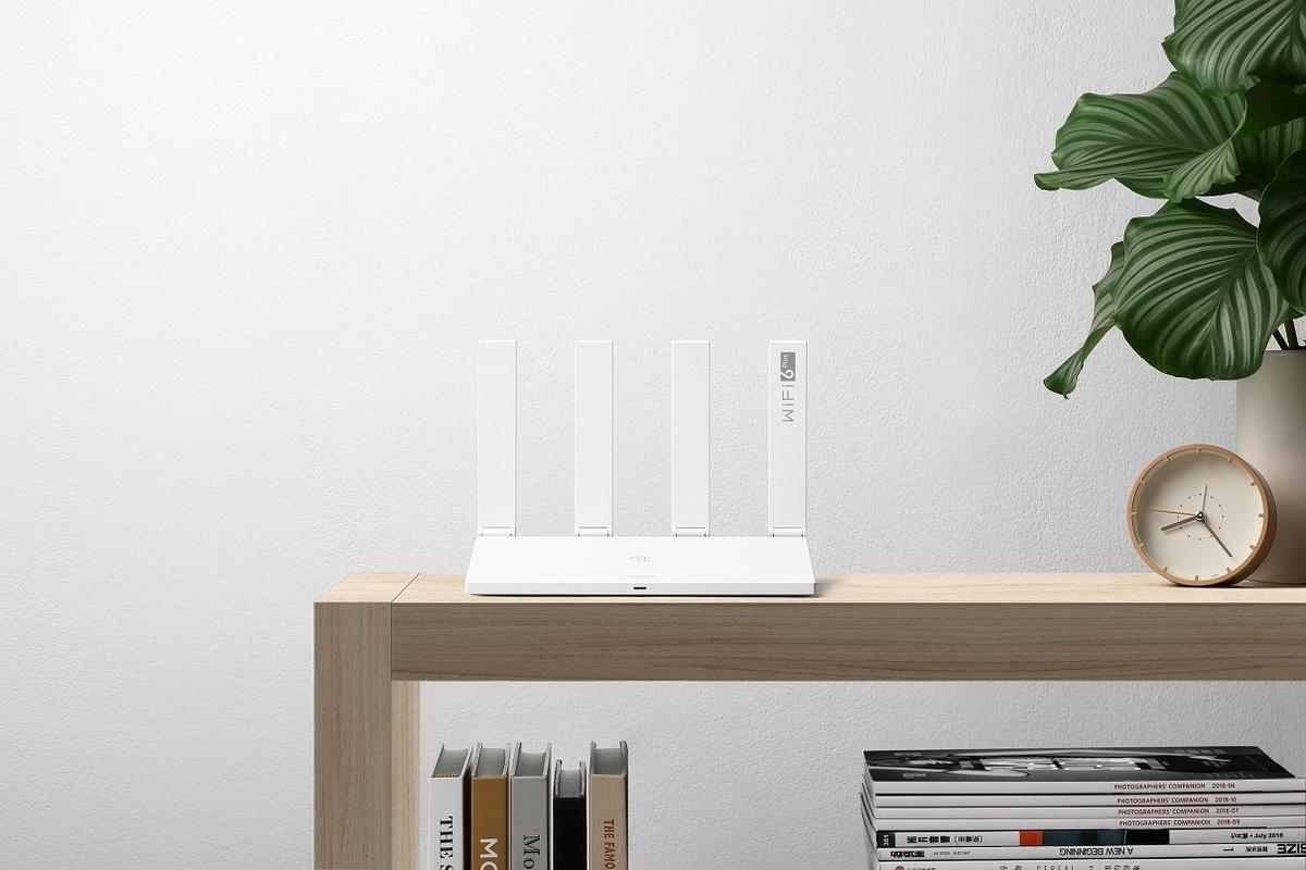 Grafika promocyjna routera Huawei WiFi AX3 z WiFi 6