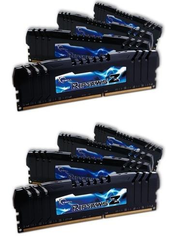 G.SKILL DDR3 64GB (8x8GB) RipjawsZ 2400MHz CL10 + Turbulence XMP