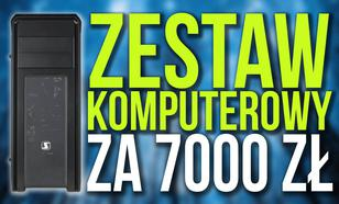 Zestaw Komputerowy za 7000 zł Oparty o Procesor Intel Core i7-7700K