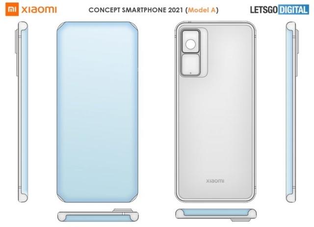 Koncept smartfonu bez ramek od Xiaomi