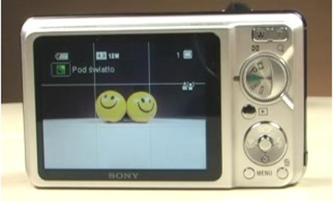 PORADA: Sony W270 - Kadrowanie zdjęć