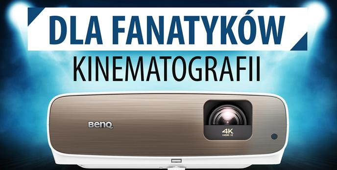 Nowy projektor BenQ - Dla fanatyków kinematografii