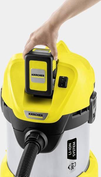 Karcher WD 3 Battery Premium odkurzacz do pracy na sucho i mokro