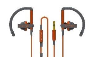 SoundMAGIC EH11 Orange Sluchawki Sportowe Dokanalowe